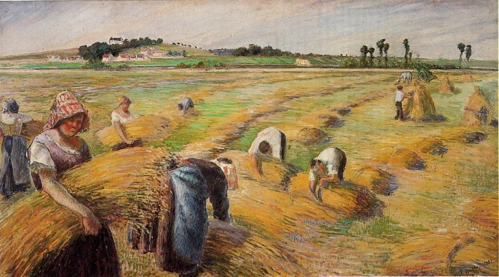 Camille Pissarro, uno de los padres del impresionismo
