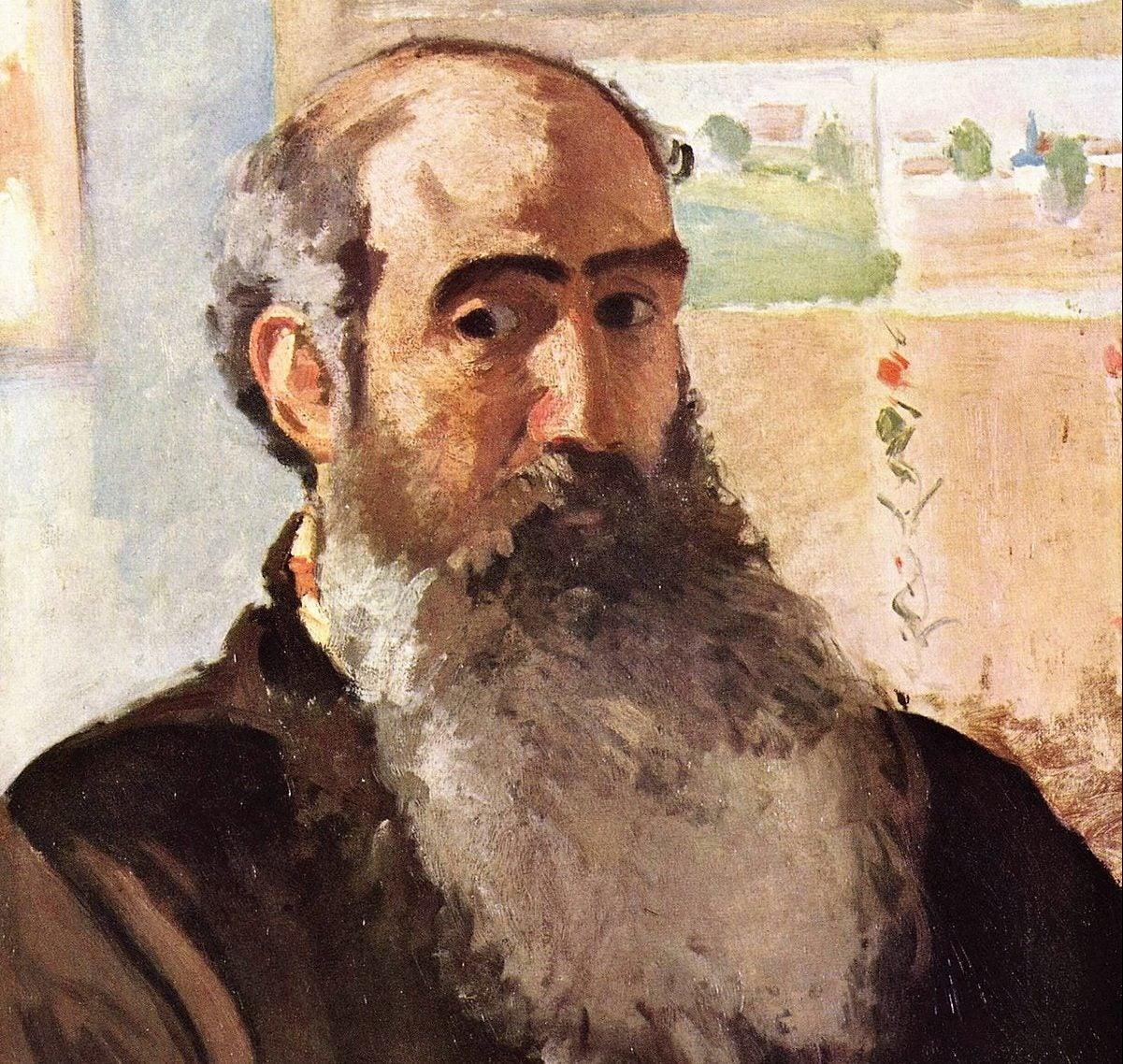 Autorretrato de Camille Pissarro