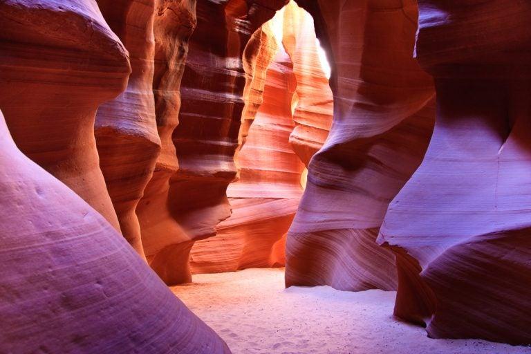 Visitamos el impresionante cañón del Antílope, en Arizona