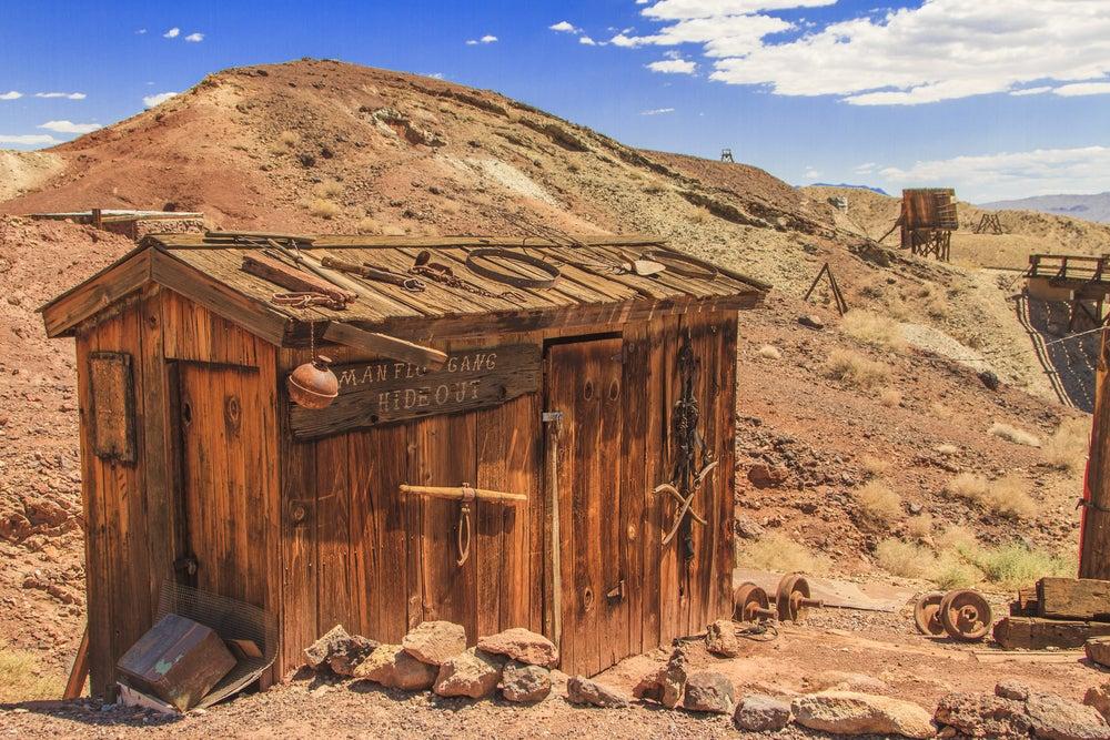 Casa abandonada en Calico