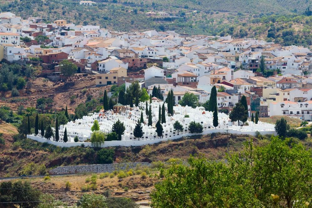 Casabermeja en la sierra de Málaga