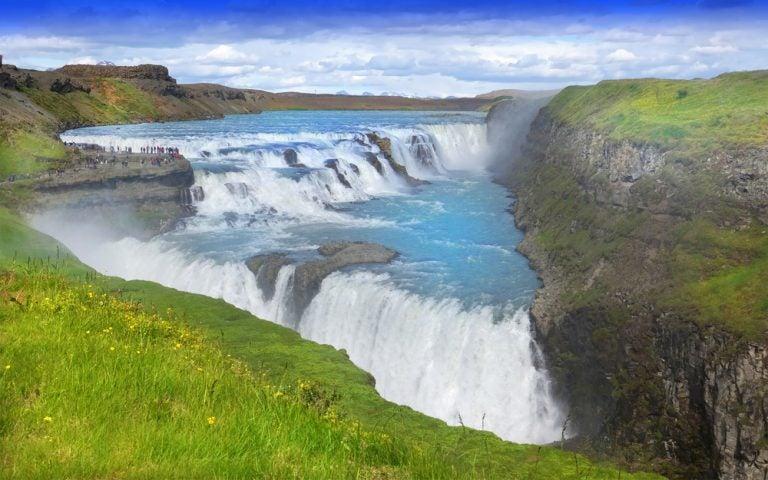 Cómo llegar a la cascada de Gullfoss, en Islandia