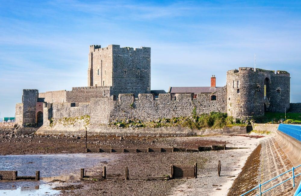 Castillo de Carrickfergus en Irlanda