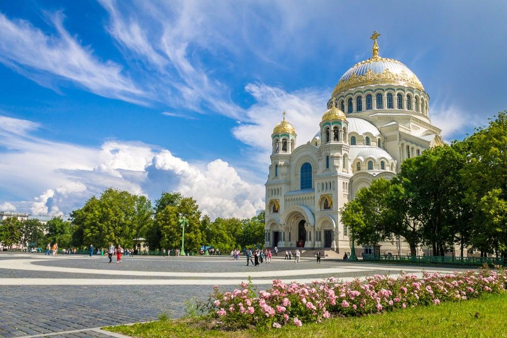 Catedral de Kronstadt en San Petersburgo