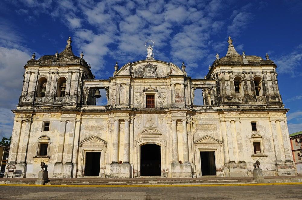 Catedral de León, parte del legado colonial de Nicaragua