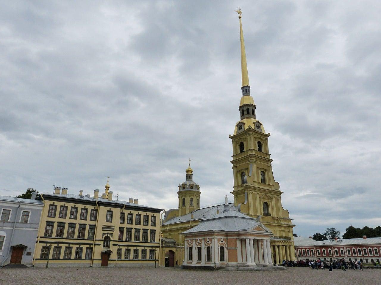 Catedral de San Pedro y San Pablo en San Petersburgo