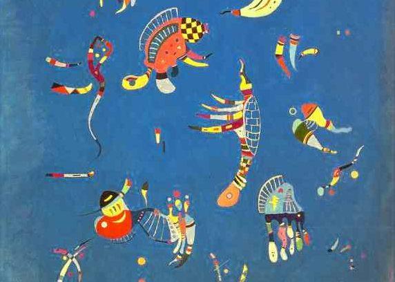 Cielo Azul de Kandinsky