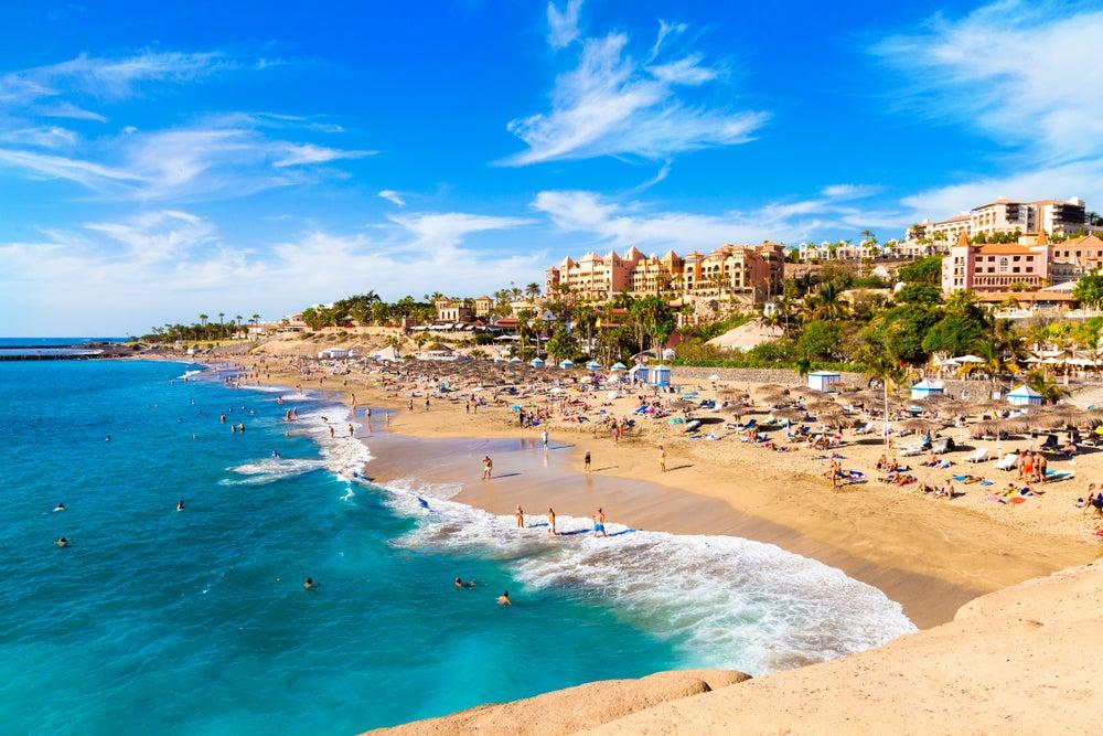 Playa de El Duque en Costa Adeje en Tenerife