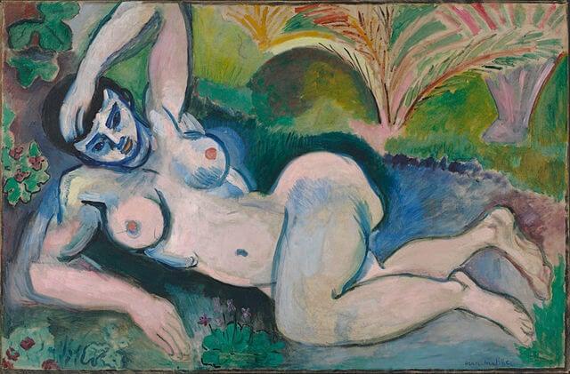 """""""Desnudo Azul"""" de Henry Matisse"""
