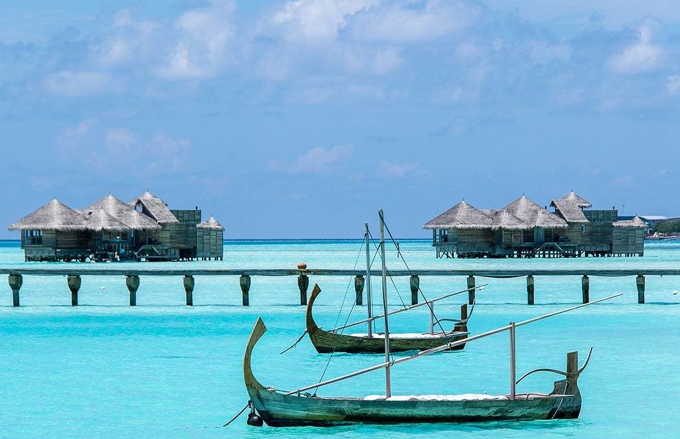 Dhoni en Maldivas