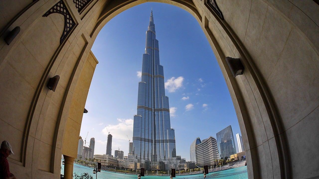Burj Khalifa en Dubái