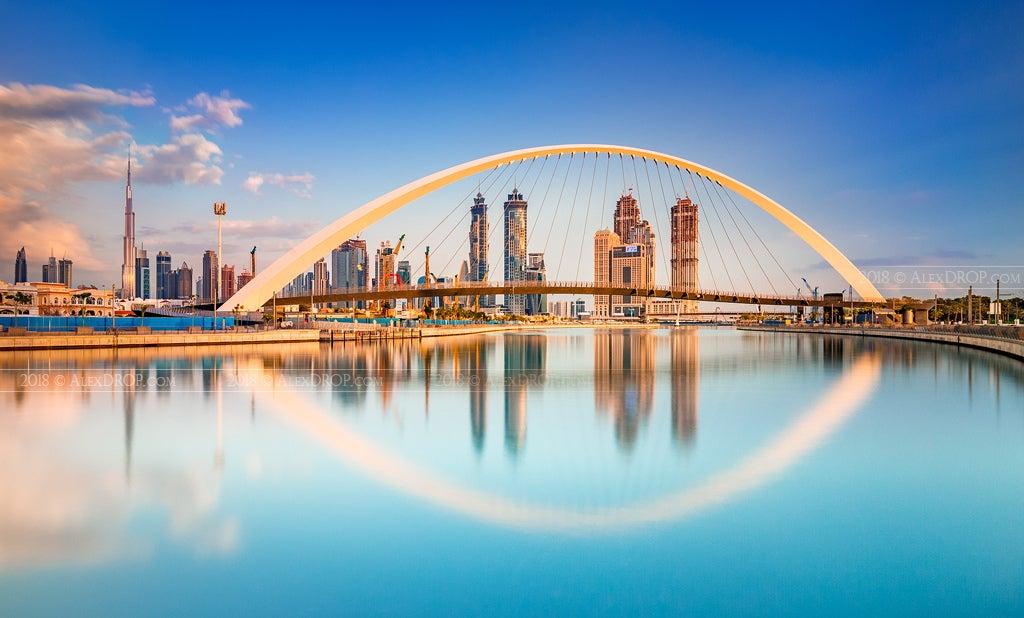 Vista de Dubái