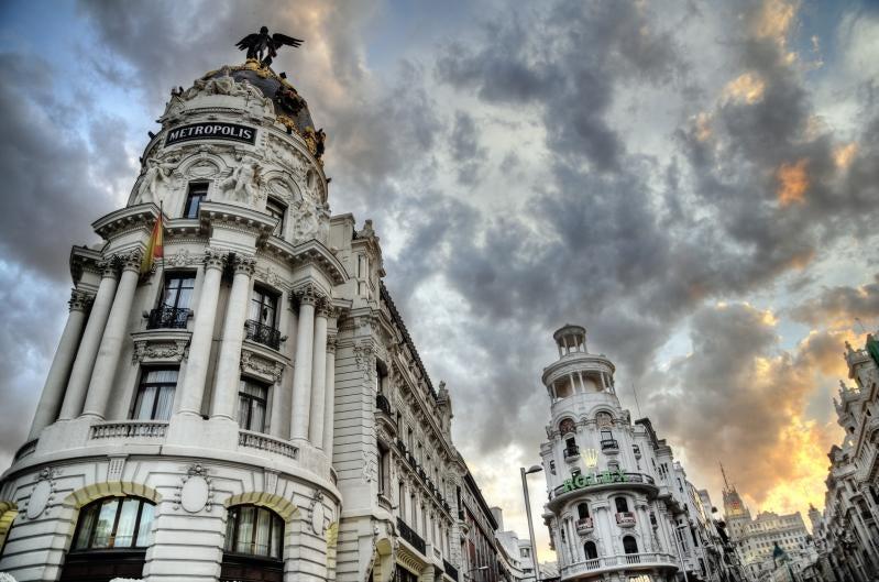 Edificio Metrópoli de Madrid
