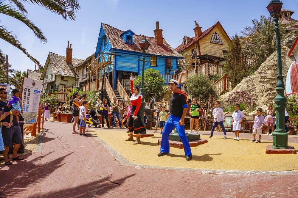 Espectáculo en Popeye Village