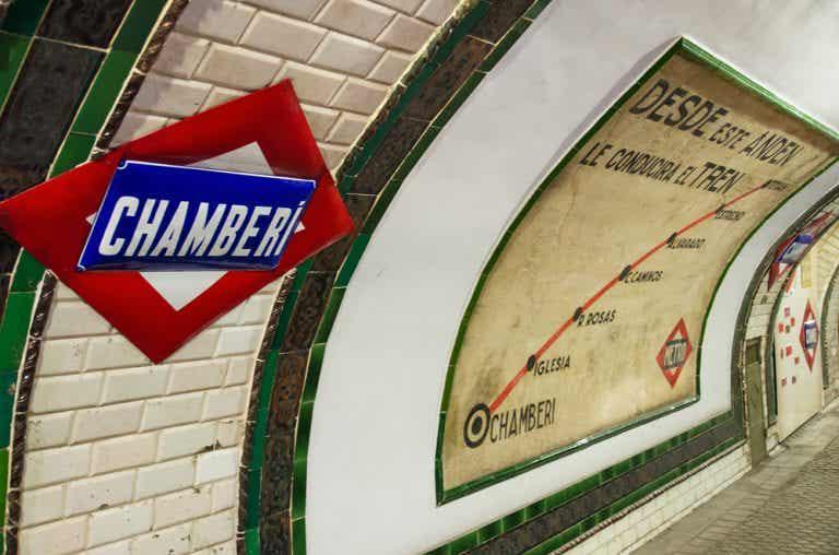 La estación de metro de Chamberí, la estación fantasma de Madrid