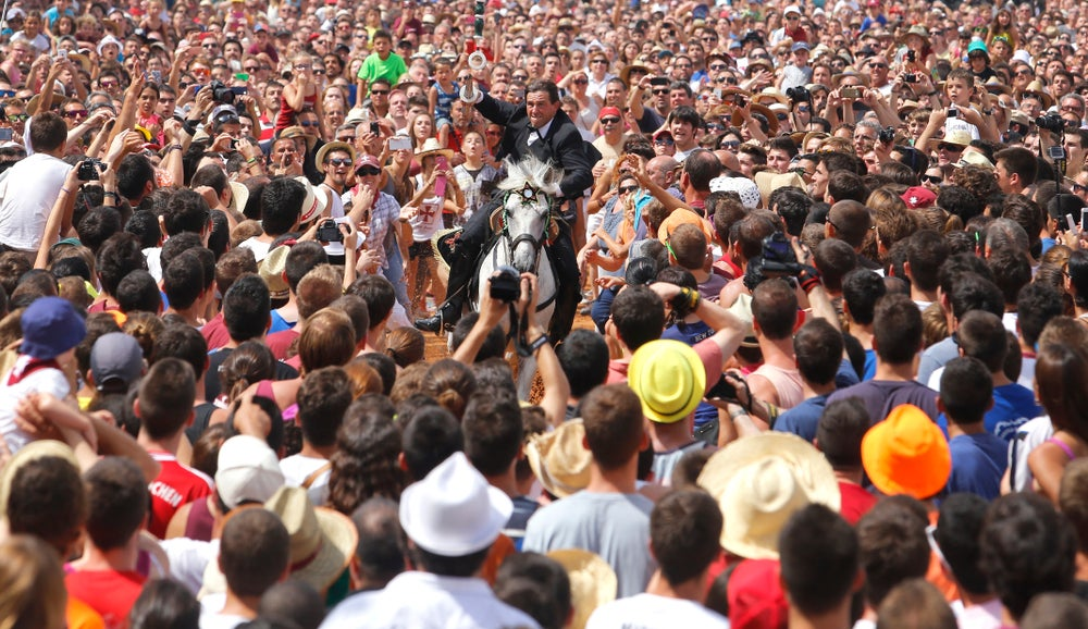 Fiesta de Sant Joan en Ciutadella