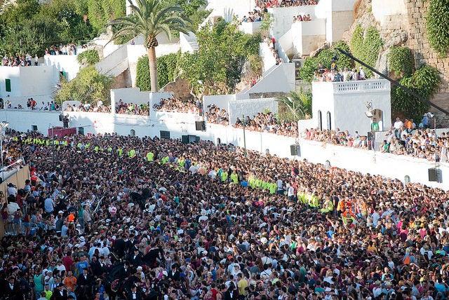 Fiestas en Ciutadella en Menorca