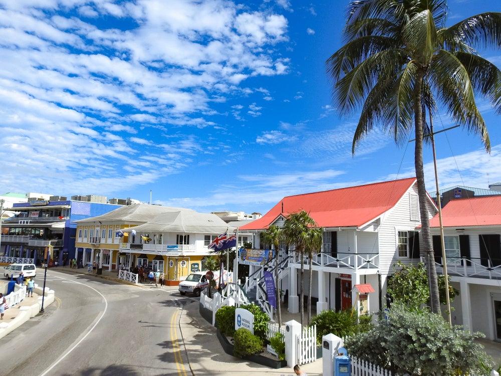 George Town en las islas Caimán