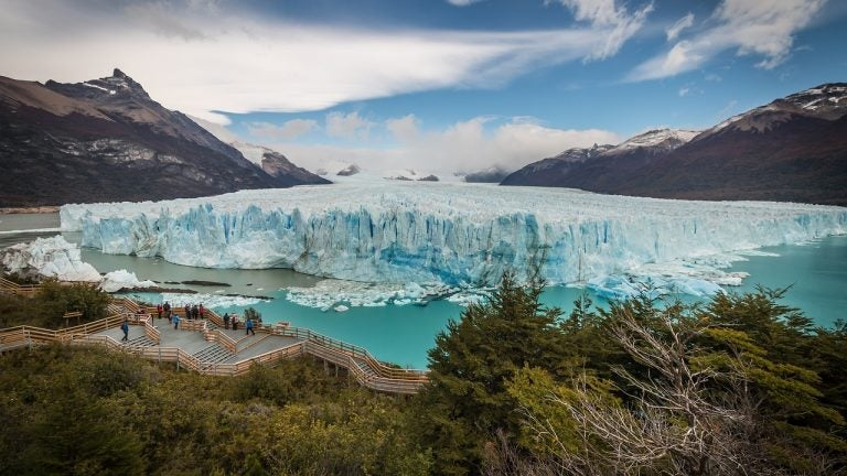 El glaciar Perito Moreno en Argentina, una ruta increíble