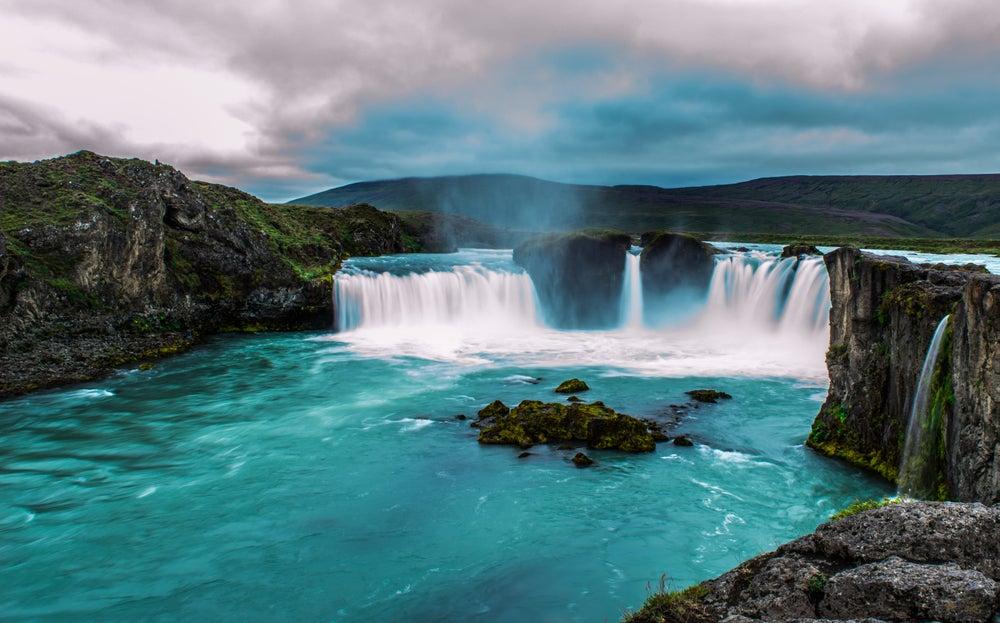 Godafoss en Islandia, lugar de rodaje de Juego de Tronos