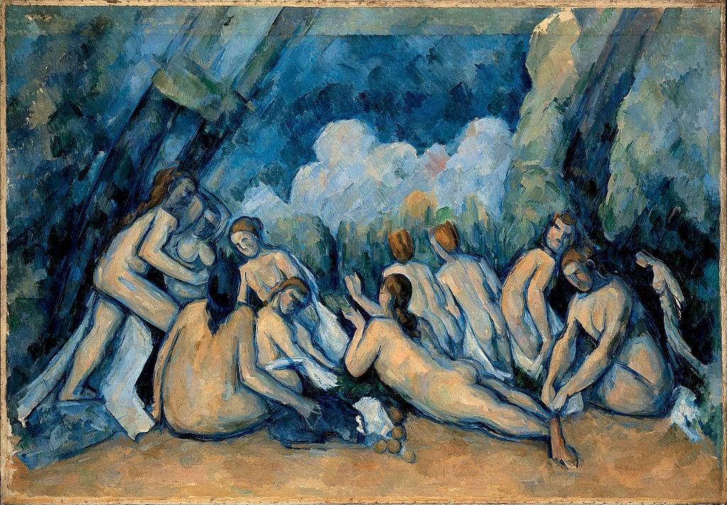 Los grandes bañistas de Paul Cezánne