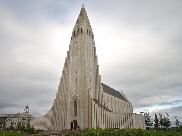 Hallgrimskirche en Islandia