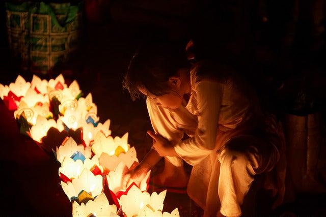 Festival de luces en Hoi An