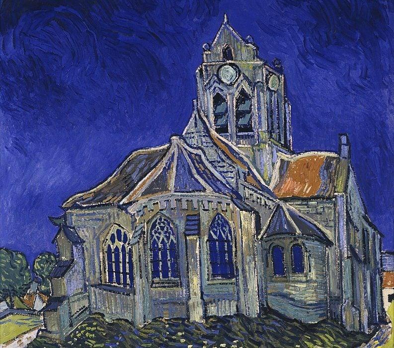 Iglesia de Auvers-sur-Oise de Van Gogh