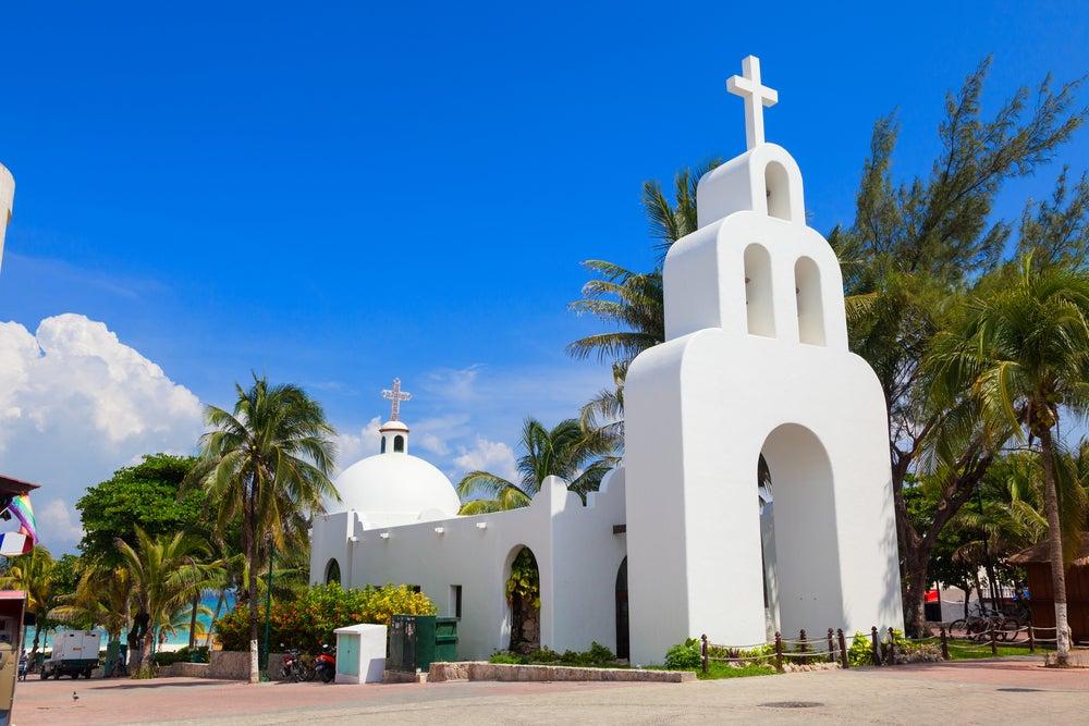 Iglesia en Playa del Carmen