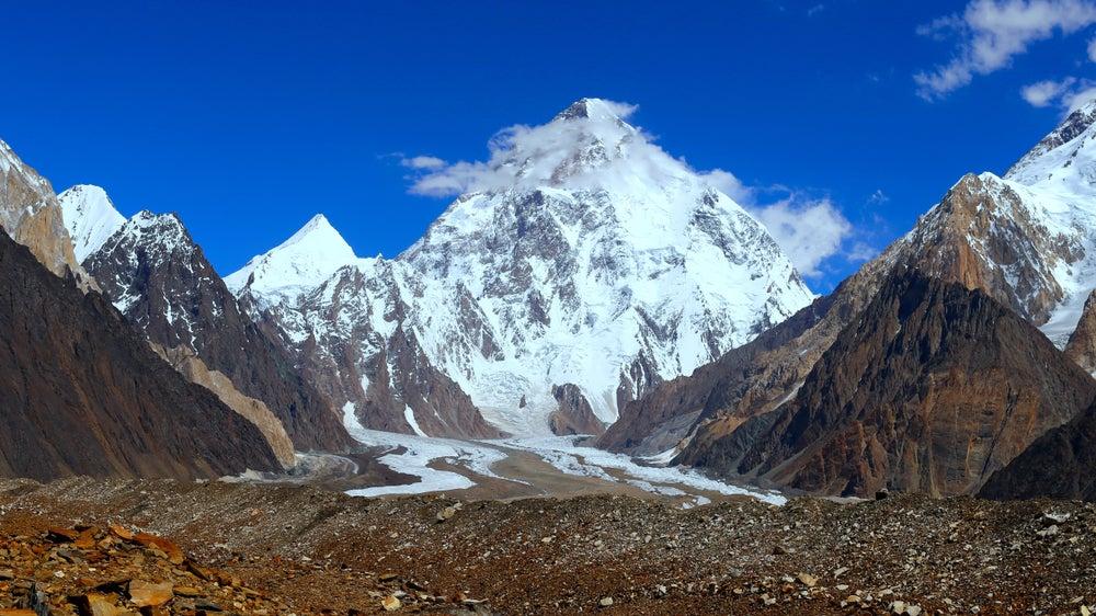 K2, uno de los picos del mundo con más de 8 000 metros