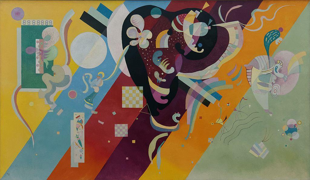 Composición 9 de Kandinsky