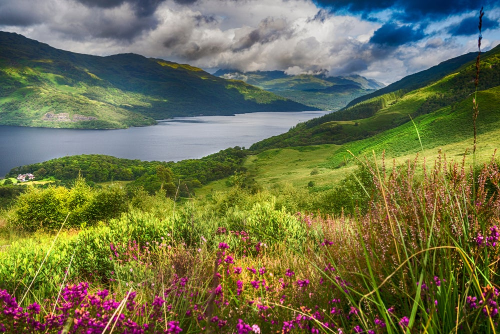 Loch Lomond en Escocia