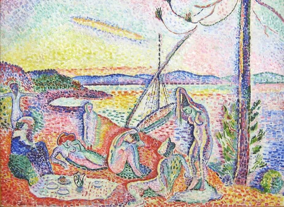 """""""Lujo, calma y voluptuosidad"""" de Henry Matisse"""