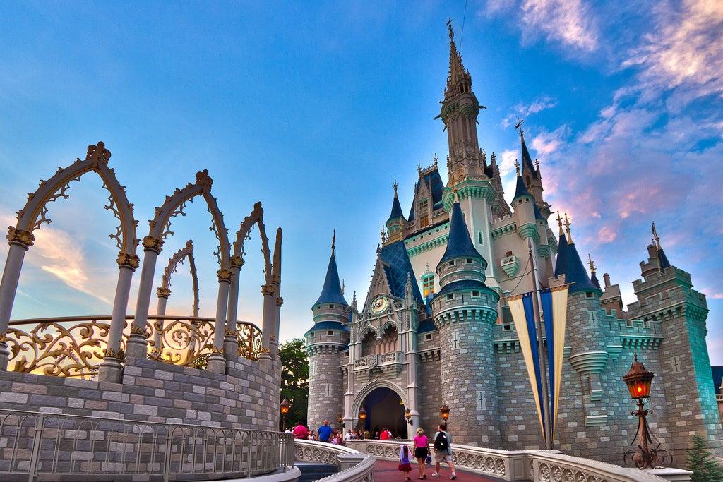 MAgic Kindom en Orlando, uno de los lugares para hacer fotos increíbles