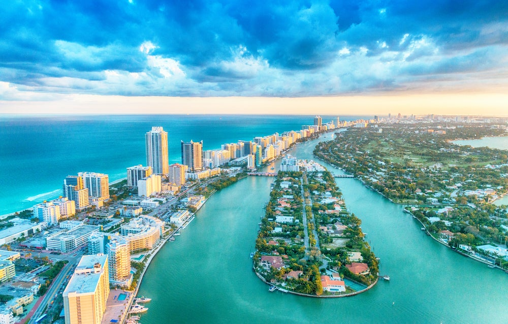 Miami Beach en Estados Unidos