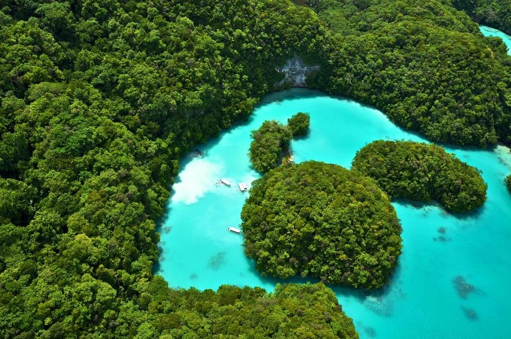 Milki Way en las islas Palaos