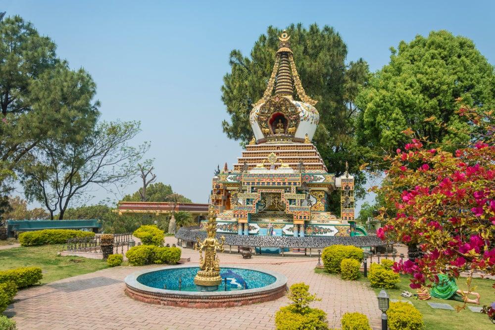Monasterio de Kopan en Katmandú