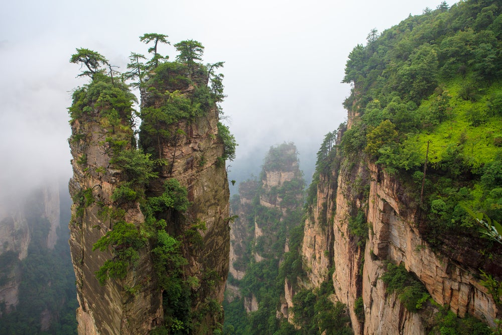 Montaña de Tianzi