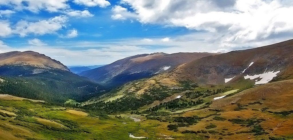 Montañas Rocosas en Estados Unidos