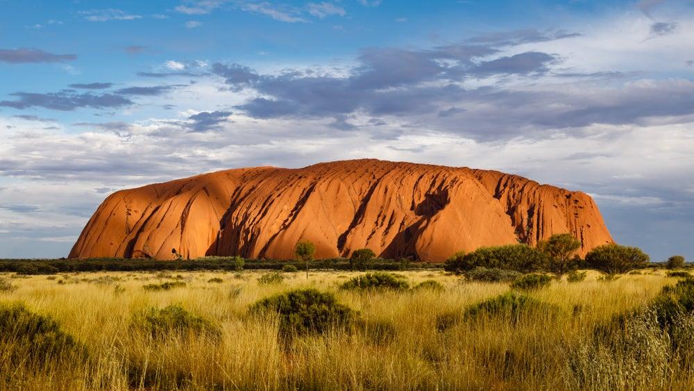 Monte Uluru en Australia