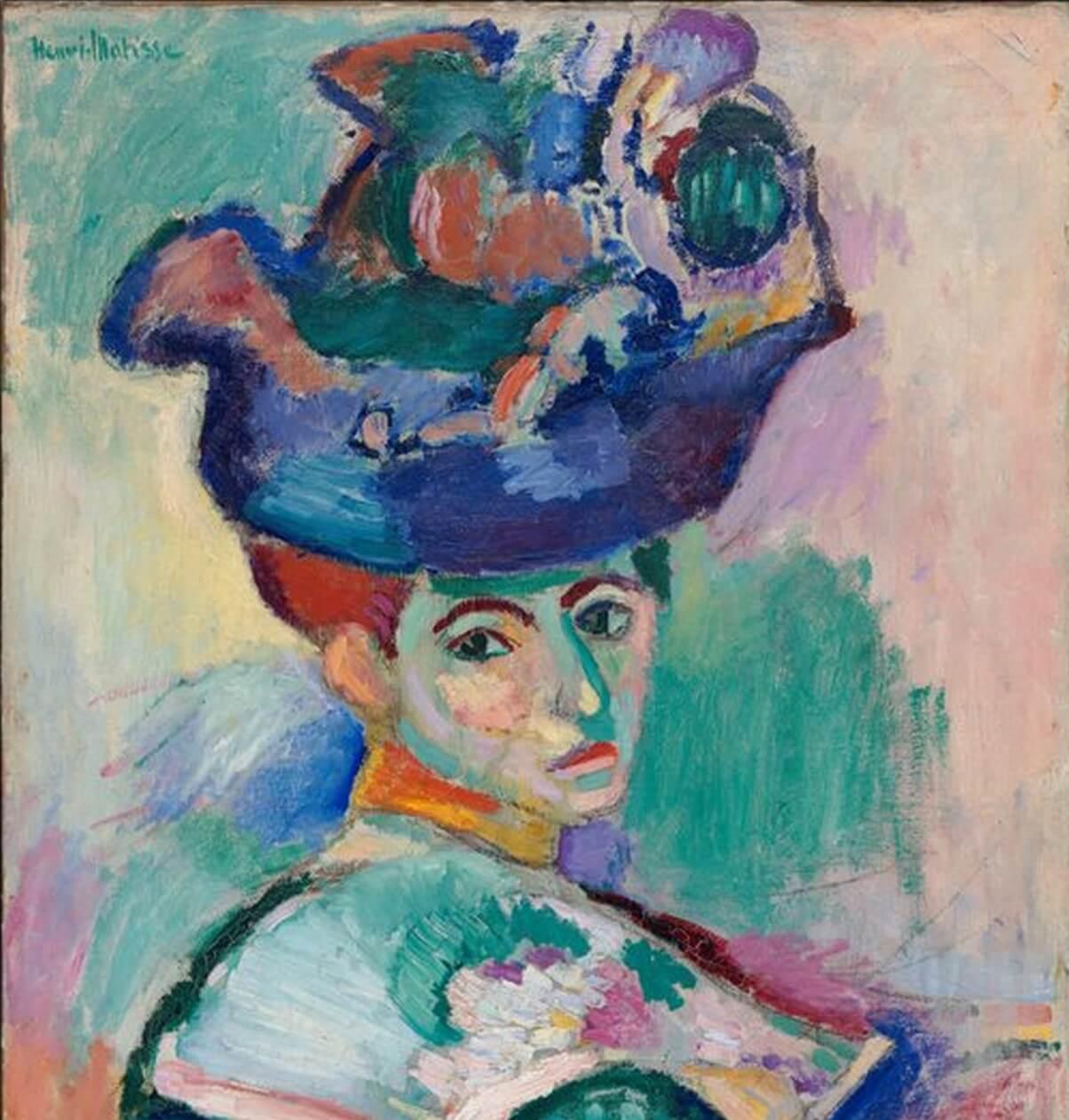 """""""Mujer con sombrero"""" de Henry Matisse"""