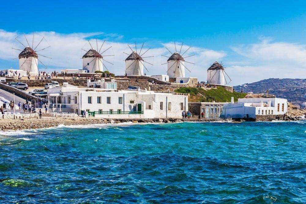 Mykonos, una de las islas de Grecia