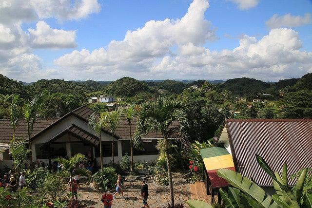 Nine Miles parada al visitar Jamaica