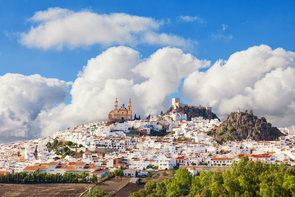 Olvera, uno de los pueblos mágicos de España