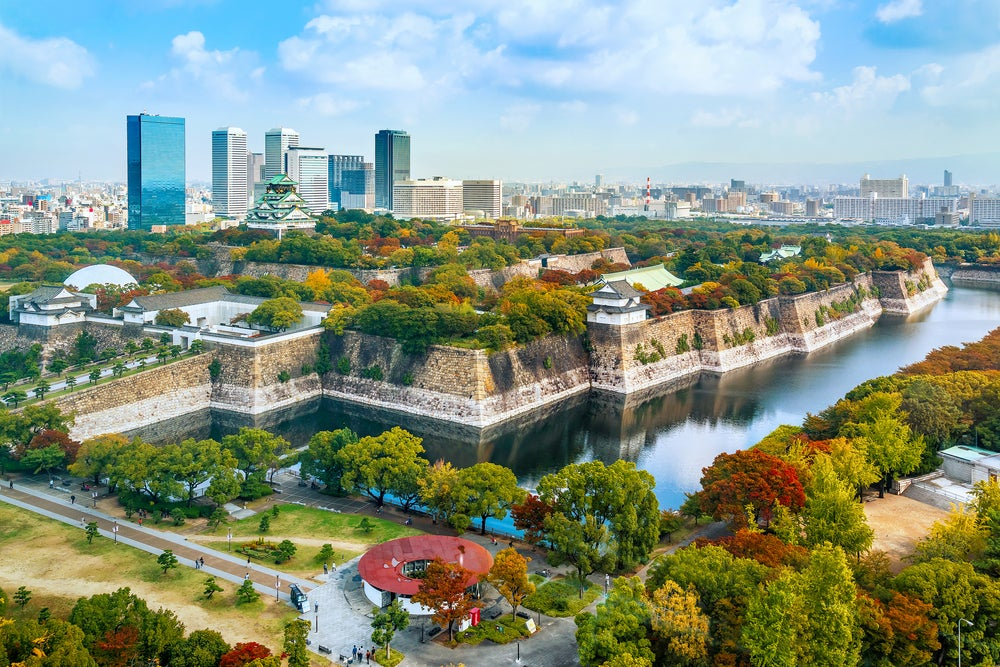 Osaka en Japón
