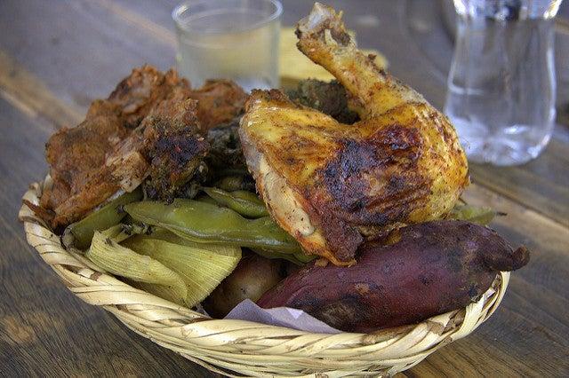 Pachamanca en la gastronomía de Perú