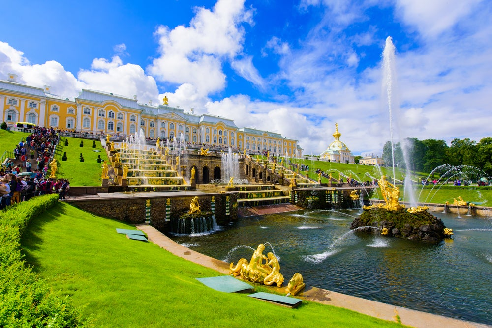 Palacio Peterhof de San Petersburgo