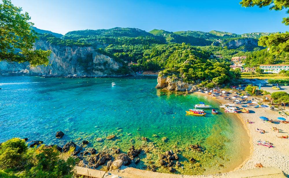 Corfú, una de las islas de Grecia