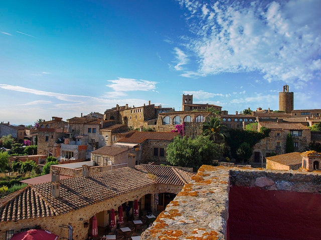 Pals en Girona, una de las slow cities de España