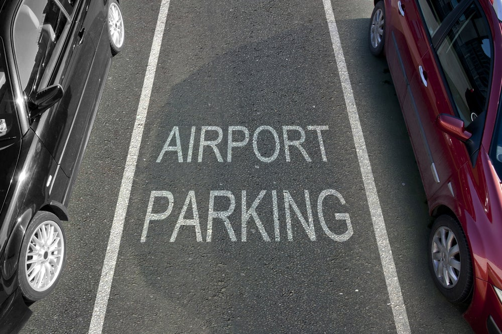 Parking en aeropuerto